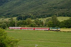 754055, REx782, Slovensk upa, 11. 6. 2016 (Somatko) Tags: train railway rex vlak 055 zsr 782 754 renatka zeleznica zssk