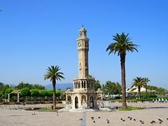 zmir Saat Kulesi (Foto Mesut) Tags: saat izmir kule