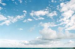 nothing is perfect (Stefano☆Majno) Tags: blue sea italy panorama costa colour travelling film beach analog is lomo lomography october mediterranean mediterraneo mare quiet geometry perspective line cielo frame half shooting ttl analogue vague swells acqua yashica wandering paesaggio linea analogica stefano oceano 2015 pellicola litorale allaperto bagnasciuga filmisnotdead majno shootingfilm flickrtravelaward