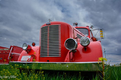 I can almost hear the siren wailing. (HarryMiller002) Tags: truck montana fireengine fortshaw