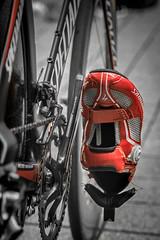 Rennrad (stephan.habrich) Tags: street city rot race germany deutschland outdoor run stadt nrw triathlon rennen fahrrad fahren mnchengladbach schuh draussen rennrad lauf strase radschuh