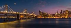 'Treasure Island' (JEMiguel007) Tags: city night dusk baybridge bridge fullmoon moon prime nikon landscape sanfrancisco treasureisland