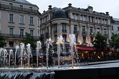 DSCF1577 (kuzdra) Tags: france evening fujifilm soir fontaine  angers   placeduralliement xt10   fujifilmxt10
