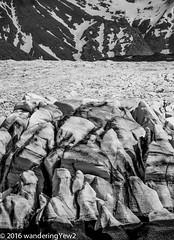 Svinafellsjökull closeup (wanderingYew2 (thanks for 3M+ views!)) Tags: blackandwhite iceland nationalpark crevasse vatnajökull vatnajökullglacier svínafellsjökull svínafellsjökullglacier vatnajökulsþjóðgarður vatnajökullnationalpark fujixpro2