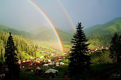 Bakhmaro, Georgia (Alan Elba) Tags: two beautiful georgia rainbow elba rainbows tbilisi maro sameba bakh  bakhmaro baxmaro  alanelba