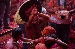 Barsana Nandgaon Lathmar Holi Low res (31 of 136) (Sanjukta Basu) Tags: holi festivalofcolour india lathmarholi barsana nandgaon radhakrishna colours