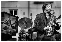 Anfiteatro Jazz 2016 - 04 (Mikeluk) Tags: bw italia jazz lucca bn musica toscana bianco nero musicista anfiteatro