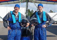 An epic father and son outing (floridaadventuresports) Tags: family fun flying dad father son aerial adventure gifts fathersday epic flights thrills giftideas bucketlist