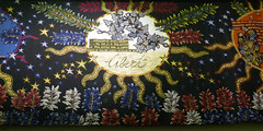 Liberte - part of a larger Lurcat tapestry - Galerie des Gobelins, Paris (Monceau) Tags: paris liberty exhibition libert tapestry lurat jeanlurat galeriedesgobelins