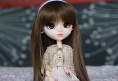 A little bit of a change (Sarah Boude) Tags: holiday cute doll princess roman handmade crochet audrey ann groove jumper pullip custom hepburn coolcat poupe fmd rewigged rechipped formydoll