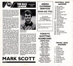 St Mirren vs Celtic - 1988 - Page 22 (The Sky Strikers) Tags: street love st magazine scottish match celtic premier league bq clydeside 60p mirren