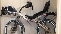 Azub Max for comparison (gunnsteinlye) Tags: max bicycle norway recumbent skien azub