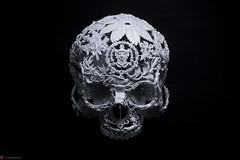 IMG_4978 (m.acqualeni) Tags: sculpture metal dark de dead death skull noir mort gothic goth manuel morbid alain gothique mtal fond tete tte morbide belino acqualeni