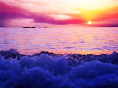 Quello che era, ci che resta (Kumo Moku) Tags: sunset sea summer italy beach poetry italia tramonto mare estate sicily poesia spiaggia sicilia capodorlando canonpowershotg5
