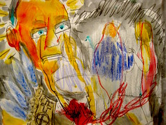 Existence As Tears (giveawayboy) Tags: art pencil painting tampa sketch paint tears artist acrylic drawing dream crayon existence fch giveawayboy billrogers