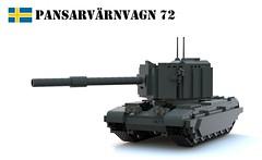 Pansarvrnvagn 72 (Matthew McCall) Tags: 2 army war tank lego stage military destroyer british centurion fv4005