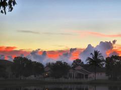 Sunrise HDR 20160716 (Kenneth Cole Schneider) Tags: florida miramar