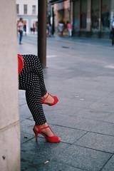 (Berni_Prez) Tags: street people calle sevilla shoes fuji gente legs seville zapatos piernas