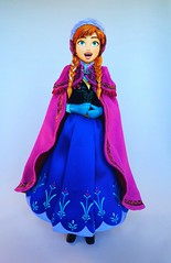 For the First Time in Forever (ozthegreatandpowerful) Tags: winter anna snow real frozen doll dolls action gear hero figure rah heroes elsa medicom