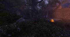 Wandering in the Shire (Ima Peccable) Tags: lotr fantasy secondlife shire landscapessecondliferegiontheshiresecondlifeparceltheshireahomelysliceofmiddleearthsecondlifex84secondlifey128secondlifez21