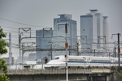 Nagoya City ,Aichi Ken ,Japan. (marcelo.nakazaki) Tags: city cidade sky tree japan ponte nagoya japo arvore ceu japon predio sia aichiken trembala