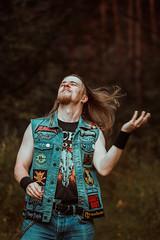 IMG_5067 (rodinaat) Tags: longhair longhairman longhairedman longhaired beard bearded metal metalhead powermetal trashmetal guitar musican guitarplayer brutal forest summer sun