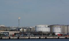 Gas flare - Gteborg (blondinrikard) Tags: gteborg summer july 2016 sweden gothenburg sverige gasfackling gasflare raffinaderi refinery oilindustry petrochemical industry