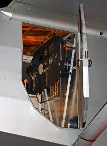 Ryan NYP (NX211) Cockpit (EAA Replica)