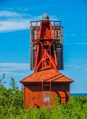 Copper Harbor Front Range Light (1869) (Selector Jonathon Photography) Tags: michigan lakesuperior copperharbor keweenaw harborlight copperharborfrontrangelight