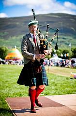 Solo Piping (FotoFling Scotland) Tags: scotland kilt scottish event piper highlandgames lochearnhead lochearnheadgames