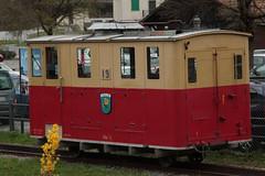 Zahnradlokomotive He 2/2 Nr. 19 der Schynige Platte - Bahn SPB mit Taufname Flhblume ( Lokomotive Baujahr 1911 => Ex Wengernalpbahn WAB He 2/2 Nr. 59 => Hersteller SLM Nr. 2169 ) am Bahnhof Wilderswil im Berner Oberland im Kanton Bern der Schweiz (chrchr_75) Tags: train de tren schweiz switzerland suisse swiss eisenbahn railway zug april locomotive cogwheel christoph svizzera bahn zahnrad treno schweizer chemin centralstation fer locomotora tog crmaillre juna lokomotive lok ferrovia bergbahn cremallera spoorweg suissa 2015 zahnradbahn locomotiva lokomotiv ferroviaria  locomotief chrigu  rautatie  mountaintrain bahnen zoug trainen  chrchr hurni chrchr75 chriguhurni albumbahnenderschweiz chriguhurnibluemailch albumbahnenderschweiz201516 albumzzz201504april