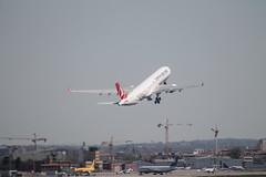 Airbus A330 (xwattez) Tags: france plane airport european aircraft airbus transports toulouse airlines aeropuerto blagnac turkish a330 avion aéroport européen 2015 véhicule lfbotls