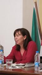 Teresa Leal Coelho em Vila Franca de Xira