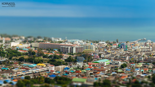 Miniature picture at Hua Hin, Thailand.