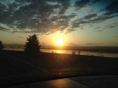Sun Rise on I5
