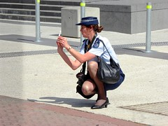 Queensland Police camera choice I-phone or digital (Lance CASTLE) Tags: lawenforcementofficers police publicrelations camera lifestyle uniform russellstreet southbrisbane metro urban geotagged media shutterstock redhead nikon qps female southbank photo policewoman cops queenslandpolice photographer policeofficer southbankparklands abcstudios australianpolice toserveandprotect withhonourweserve cameraman policemedia qpsmedia caso focus outdoor seniorsergeant redheads femalephotographer geotaggedbrisbane look flyr mypolice downtown lawandorder policingqueensland