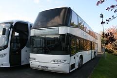 KP04GKF  Omega Travel, Milton Keynes (highlandreiver) Tags: travel bus london coach omega transport tube oxford cumbria milton keynes tri carlisle coaches stagecoach axle neoplan skyliner kp04gkf