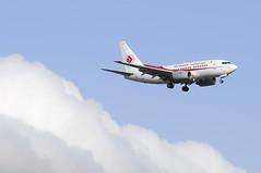Outside the clouds (j.borras) Tags: barcelona clouds airport air bcn next landing boeing exit algerie gen 737 737ng lbl 7tvjs