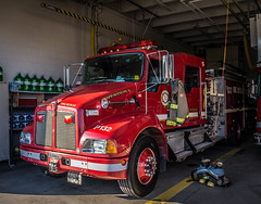 QUINTE WEST FIRE PUMPER 132 (Christopher De Bruin Photography) Tags: rescue west truck fire lights fd kenworth quinte qwfrs