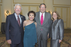 Rhonda and David L. Cohen with Carol Saline and Paul Rathblott