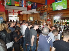 The Cherry Trees pub, South Norwood, London UK (Paul-M-Wright) Tags: park city uk trees london beer swansea bar cherry football pub crystal south sunday may palace booze match 24 fans norwood premier league drinkers supporters versus 2015 swfc cpfc selhurst