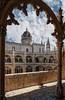 La torre enmarcada (Javier Martinez de la Ossa) Tags: portugal lisboa lisbon claustro conventodelosjerónimos javiermartinezdelaossa