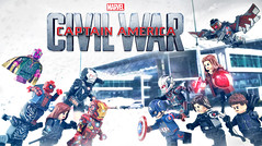 LEGO Captain America: Civil War - One Final Send-Off (MGF Customs/Reviews) Tags: chris winter man black scarlett holland robert tom america scarlet giant soldier paul spider evans team war iron elizabeth lego witch ant machine jr vision civil cap captain figure falcon mackie anthony custom widow panther barnes bucky olsen avengers johansson downey minifigure rudd
