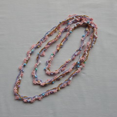 Multi strand beaded crochet necklace (MaxMixShop) Tags: crochet fashionjewelry beadednecklace crochetnecklace fibernecklace
