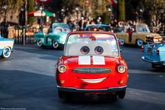 IMG_6630 (Welcome to the Sanitarium) Tags: park red ride disney theme amusementpark californiaadventure carsland luigisrollickinroadsters