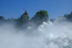 Rhine Falls Switzerland (claromann) Tags: waterfall wasserfall schaffhausen falls fujifilm bodensee rhine rheinfall xt10 claromann