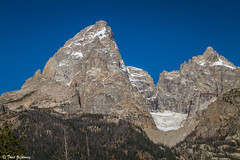 Teton glacier (Thad Zajdowicz) Tags: grandtetonnationalpark mountains color rugged rocky vivid vibrant landscape americanwest beauty zajdowicz roadtrip 2015 autumn lightroom canon eos 7d dslr digital availablelight handheld awesome sky outdoor outside rock mountain glacier mountainpeak arete ridge