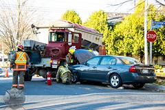 C-K Fire - MVC, Colborne St. & Princess St. N., 11/9/2015 (Front Page Photography / Hooks & Halligans) Tags: fire crash accident vehicle service motor ck department services dept collision mvc chathamkent ckfire