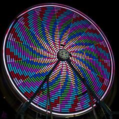 Psycho Chicken (Jersey JJ) Tags: carnival color chicken wheel ferris psycho d750 streaks olv