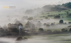 Farm in the Mist (awhyu) Tags: mist landscape farm peakdistrict edale derybshire andrewyuphotography